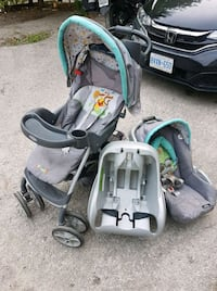 Stroller and car seat set 536 km