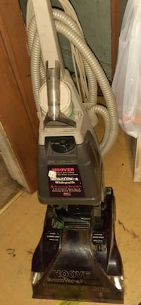 Hoover carpet cleaner with attachments