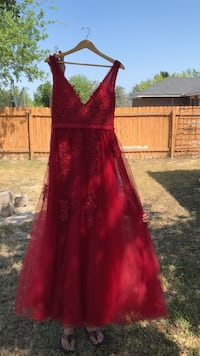 Any occasion red dress. Size Large  Alton, 78573