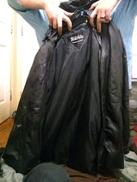 mans  vilanto leather jacket 2x.