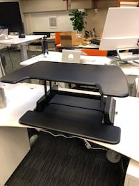VARIDESK Pro 36 - Single Display Surface - Black - $150 null