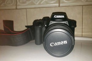Canon Rebel XS DSLR Camera with EF-S 18-55mm lens