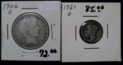 Price Drop. Old Coins.