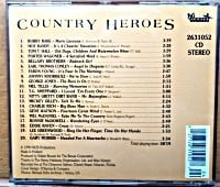 CD DE COUNTRY HEROES. FEATURING. Oviedo