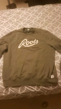 Roots Sweatshirt XL Olive Green  Milton, L9T 5P6