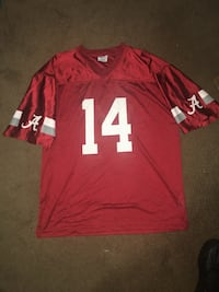 Alabama Crimson Tide Football Jersey size Large  Columbus, 31904