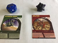 Bakugan Battle Brawler - Baliton and Dynamo including each of their cards Bethesda, 20817