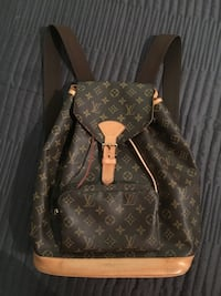 c6608b10a2c5 Used Authentic Louis Vuitton Backpack Monogram Montsouris GM for ...