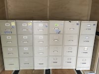 4-Drawer File Cabinets- Used Clover, 29710