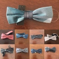 RW Mens Bow Ties Available Lots to Choose From Brand New  Approximately 5 inches wide.  Lots of them to choose from.  $8 Each or 3 for $20  Regular price $29.00 each  VIEW MY OTHER ADS!!!  TORONTO