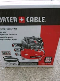 NEW air compressor.  Ray, 48096