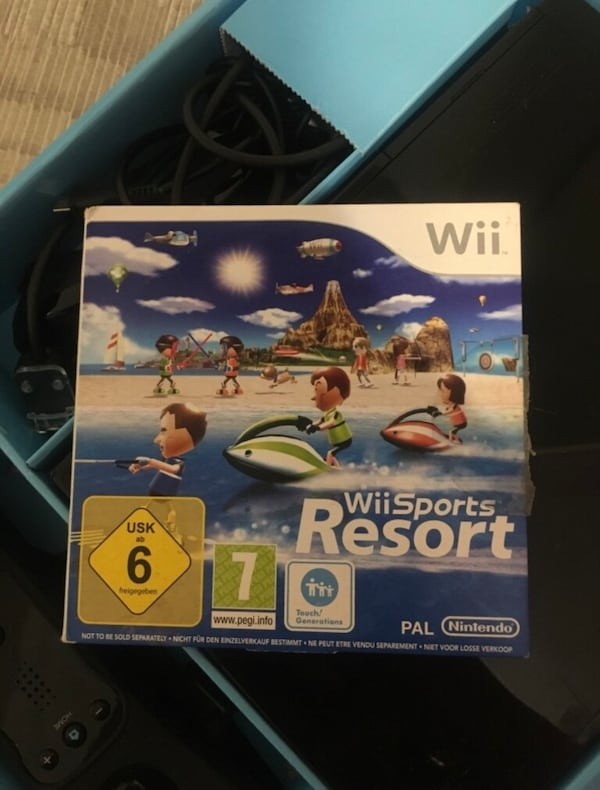 Nintendo Wii Sports Resort Pack+Nunchuck+Motion Remote 2