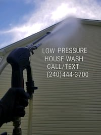 Get your house cleaned with low pressure Severna Park