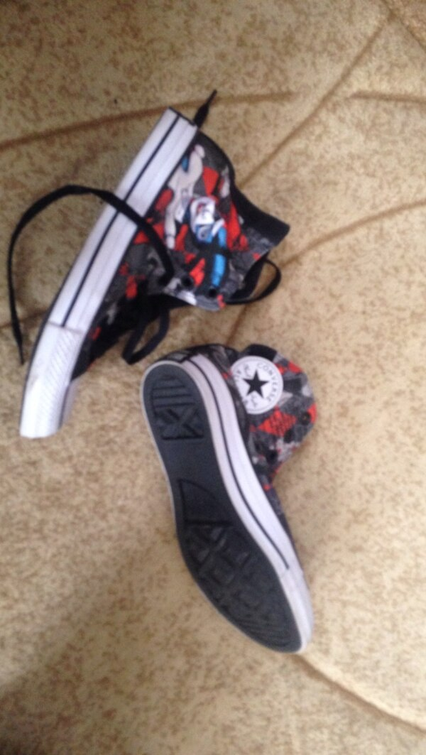 077b3ca65f01 Used Harley quinn edition converse all stars for sale in Welland - letgo
