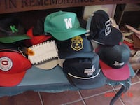 mens ball caps, new or slightly used dozens of advertising collectables Ellwood City