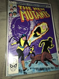 The New Mutants comic book