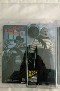 Freddy 3 figures neca Miller Place, 11764