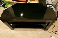 Black Glass 3 Shelf TV stand Brambleton, 20148