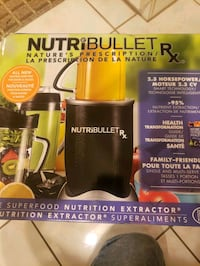 Nutri bullet max brand new in boxretails for229 Vaughan, L4L 1T7