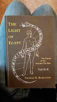The Light of Egypt book