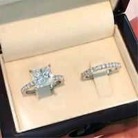 Brand new sterling silver 2 piece rings  Del City, 73115