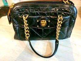 Marc Jacobs quilted leather handbag with gold chain