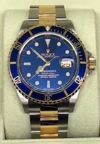ROLEX Submariner Blue, Two-Tone, Pre-Owned Costa Mesa, 92627