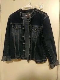 Blue jean jacket made by live a little size L Greenville