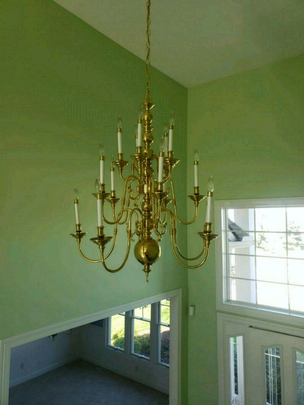 Used Matching Foyer And Dining Room Chandelier For Sale In Broadview Heights