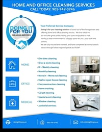 office cleaning Halton Hills