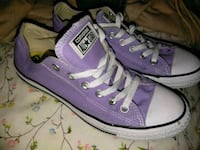 pair of purple Converse All Star low-top sneakers Bakersfield, 93308