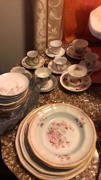 Make an offer I can't refuse mixed  Antique dishes tea sets