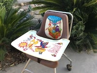 Vintage McDonald's restaurant high chair super rare