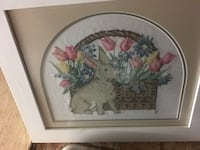 pink and yellow petaled flowers wall decor Dartmouth, B2V