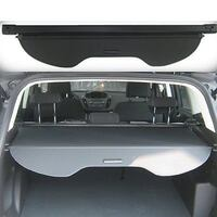 black car truck bed cover