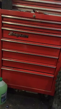 red Snap-On tool chest Aliso Viejo, 92656