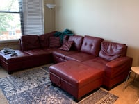 Red sectional couch Arlington, 22204