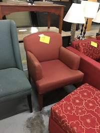 Red Accent Chair 296 mi