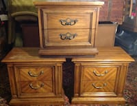 Vintage '79 Thomasville Side / End Table Set (2) + 1 FREE w/ Purchase Rock Hill, 29732