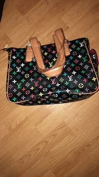 black and green Louis Vuitton leather tote bag Muskegon, 49442