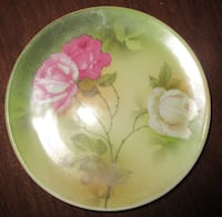 Bavaria Hand-Painted Roses Plate Derby