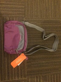 purple and gray crossbody bag Medicine Hat, T1A 8T4