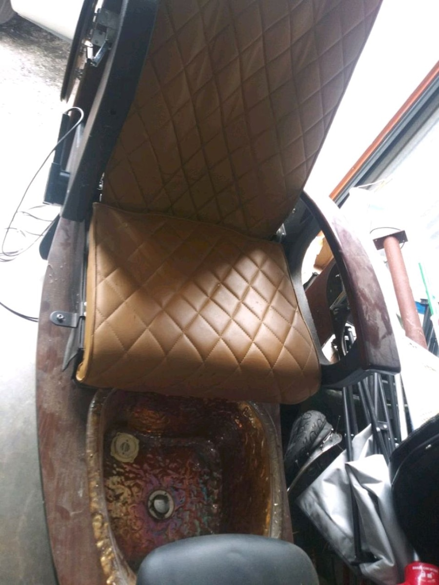 Photo Pedicure massage Spa chair