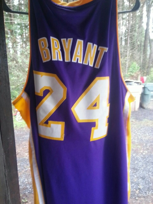 sale retailer 7540a 1d750 Kobe Bryant Hall of Fame Jersey LA Lakers classic