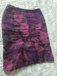 Purple & Rasberry Coloured Skirt Toronto