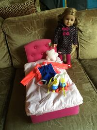 Very nice American girl doll and accessories  Fullerton, 92833