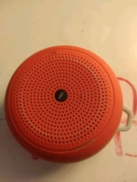 round red and white portable speaker Rockville, 20851