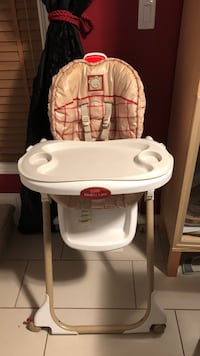 High chair fisher price