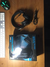 black and blue corded headphones Catonsville, 21228