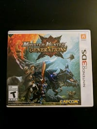 Monster Hunter Generations 3ds Calgary, T2K 1H7